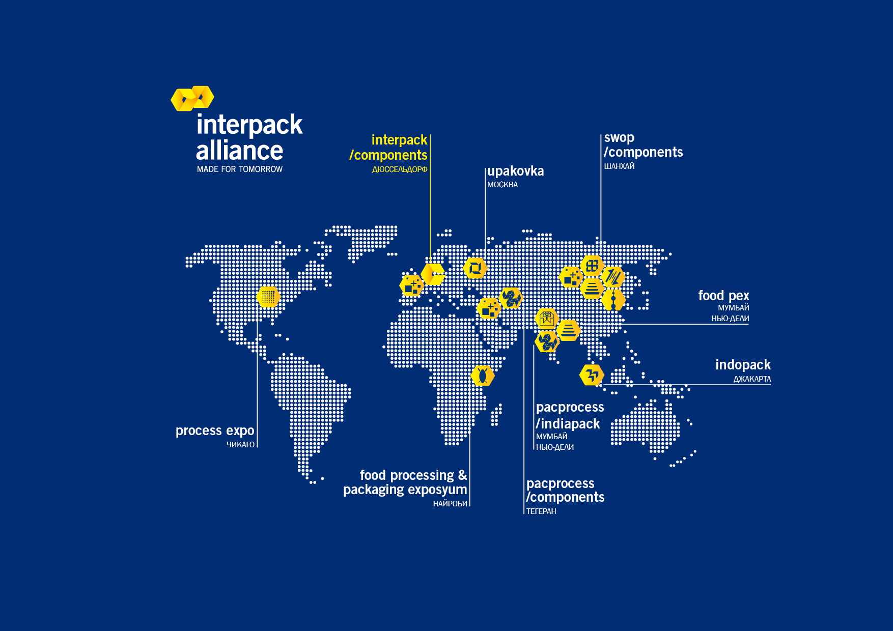interpack alliance map